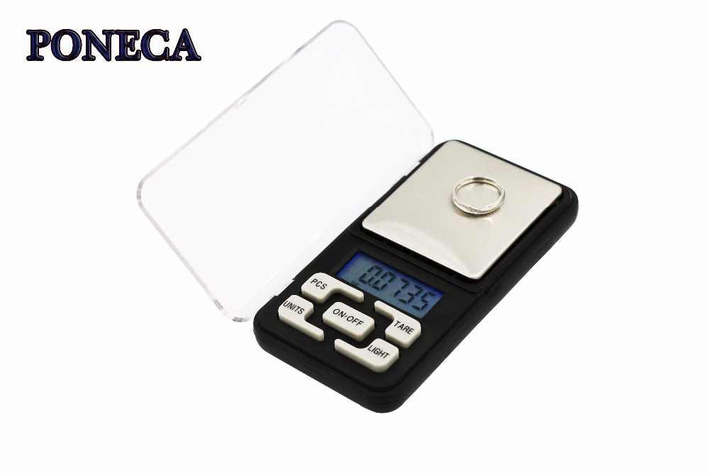 Весы ЖК-карманные весы Электронные цифровые весы ювелирные изделия золото грамм Баланс точность 200 г кухонные весы новый дизайн