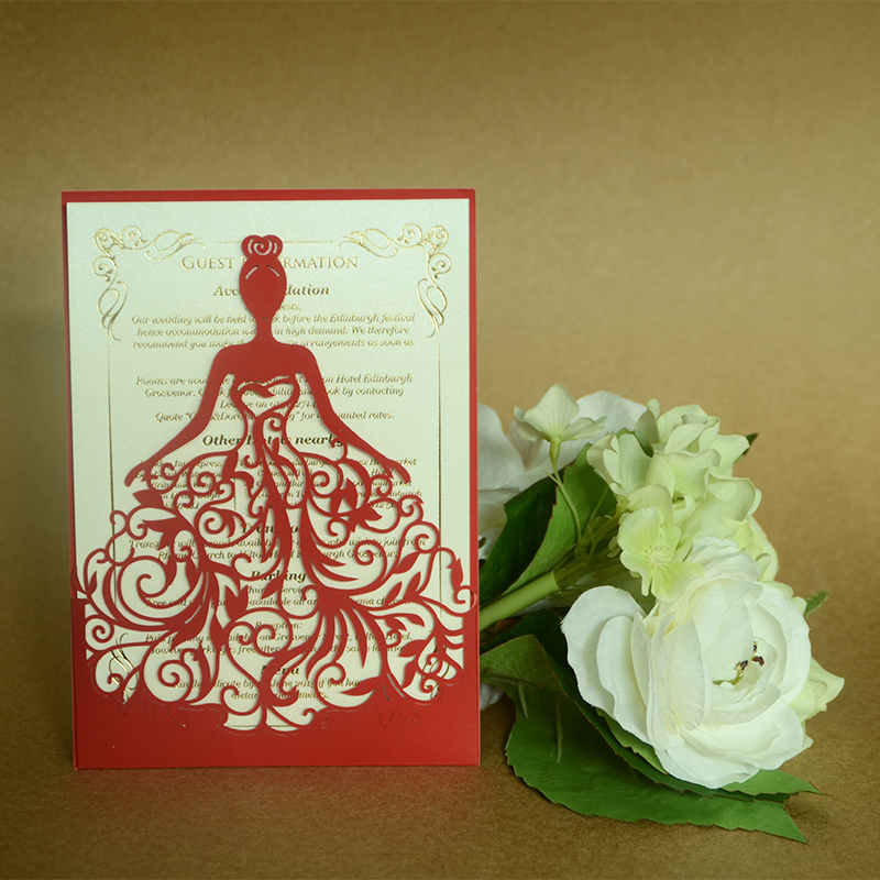 professional supply promotional paper cards custom wedding