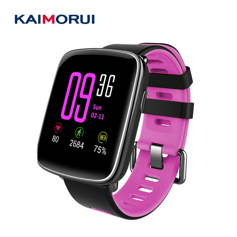 Kaimorui GV68 Bluetooth Smart Watch MTK2502D With Heart Rate Monitor IP 68 Waterproof Smartwatch Clock for iOS Android phone 2x 35w car hid bulb h4 bi xenon light h4 hi lo beam hid bulbs bi xenon h4 3 for auto headlight 12v ac 4300k 6000k 8000k 10000k