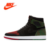 Official Original Nike Air Jordan 1 Retro High Flyknit AJ1 Men s basketball  shoes Outdoor sports AA2426-026 c9f98637d