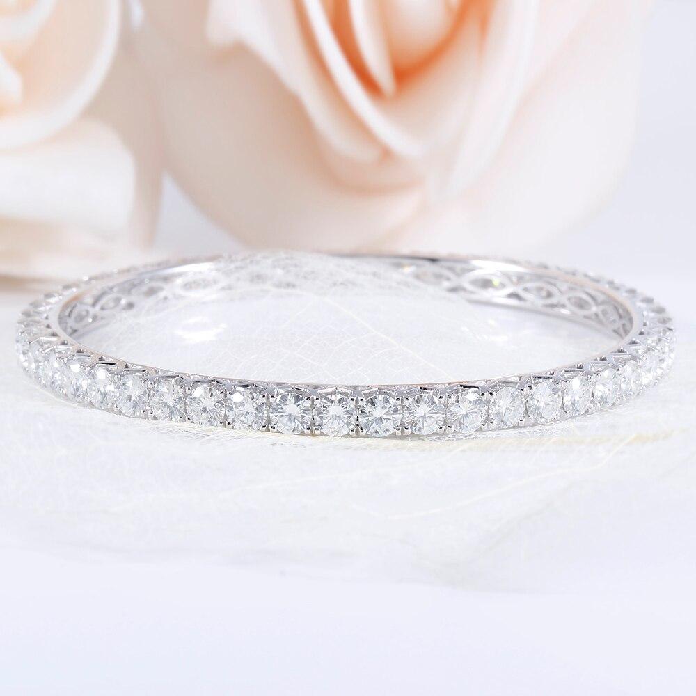 moissanite bangle wedding Bracelet 1