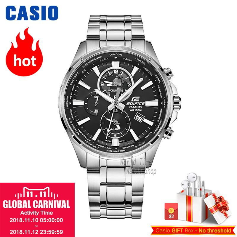 Casio watches CASIO men waterproof fashion leisure business quartz watch EFR-304D-1A EFR-304SG-7A casio efr 102d 7a casio