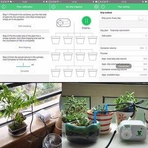 Image 5 - Sterowanie przez telefon komórkowy inteligentny ogród automatyczne nawadnianie urządzenie kwiatowe sukulenty narzędzie do nawadniania kropelkowego System timera pompy wody