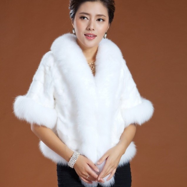 Popular White Fox Fur Coat-Buy Cheap White Fox Fur Coat lots from