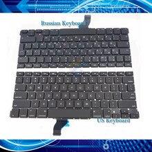 """A1502 клавиатура для Macbook Pro ноутбук Retina 13,"""" US/UK/французский/испанский/Пособия по немецкому языку/русский/итальянский/Корейская клавиатура 2013"""