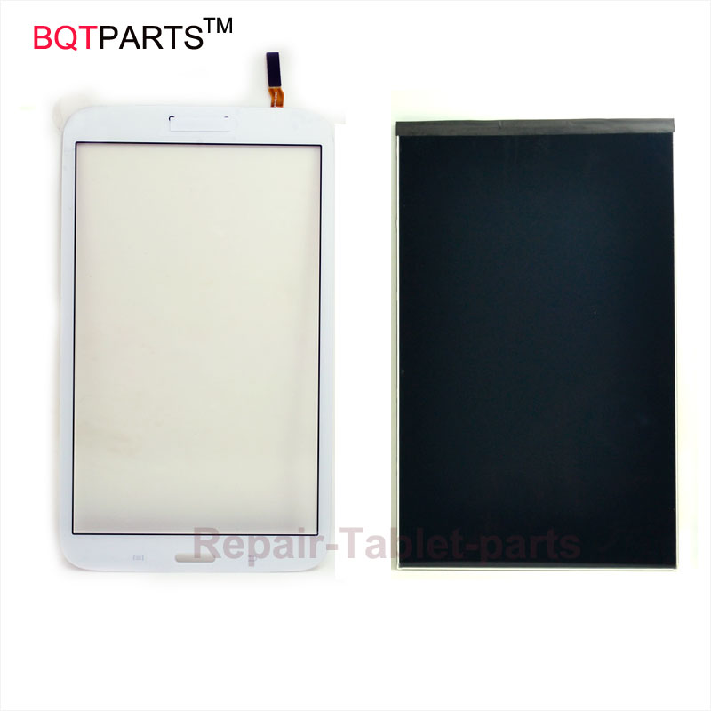 8 inch White For Samsung Galaxy Tab 3 8.0 SM-T310 T310 Full LCD Display Panel +Touch Screen Digitizer Glass Assembly Replacement white 8inch for samsung for galaxy tab 3 sm t310 t310 lcd display screen touch digitizer sensor full assembly tablet pc