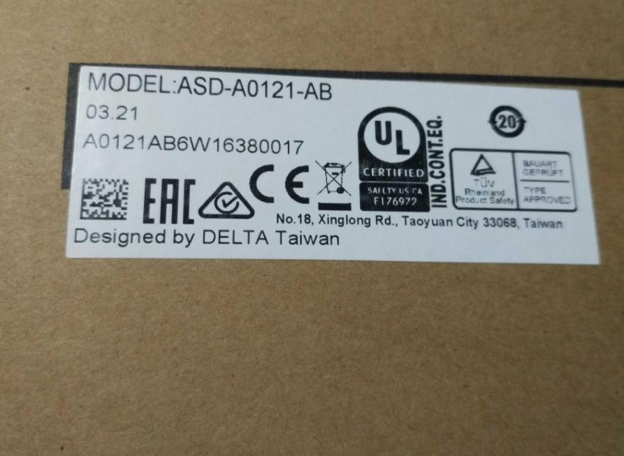 New Original ASD-A0121-AB 1ph 220V 100W 0.8A Encoder Resolution 2500ppr AC Sevor Drive encoder oss 02 1 new original