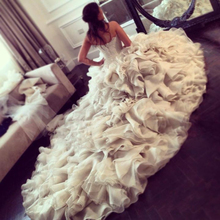 trust linda Luxury Ball Gown Floor Length Wedding Dresses
