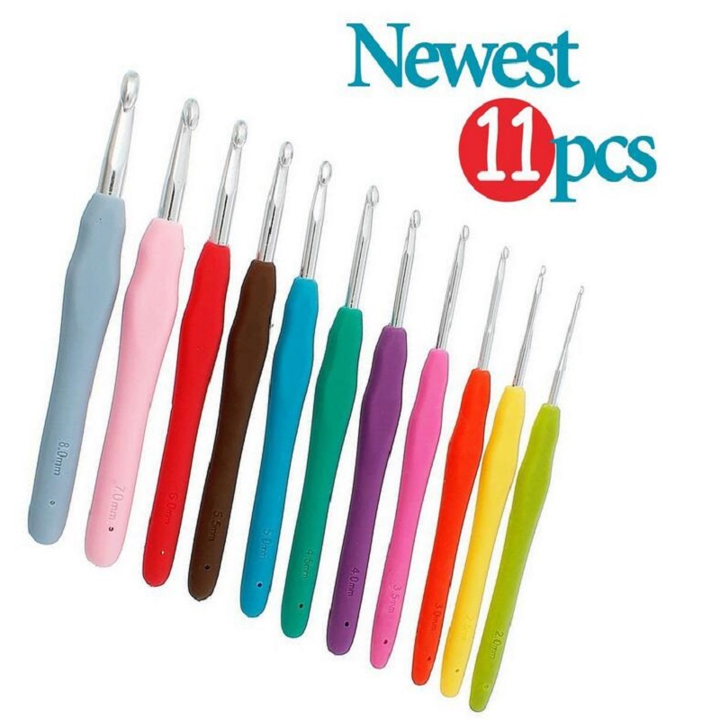 Comfort Zone Knitting Needles : Nova sizes mm pcs crochet hooks sets comfort