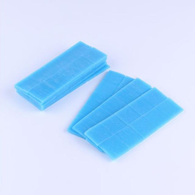 Tam Yuvarlak Kare Elmas Boyama Çapraz Dikiş Araçları Nakış Mozaik Aksesuarları DIY 5D Araçları 2x2 cm Mavi Balmumu kil Tutkal Çamur