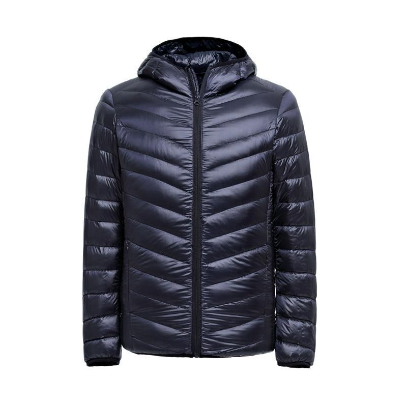 2017 Autumn Winter Duck Down Jacket Ultra light Men 90% Coat ...
