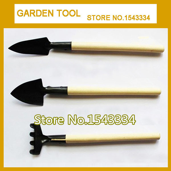 Aggressive High Quality 3pcs Mini Shovel Rake Garden Plant Tool Set Children Small Harrow Spade Shovel Gardening Tools Planting Tool Customers First Garden Tools Garden Hand Tools