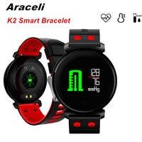 K2 Smart Bracelet Blood Pressure Heart Rate Monitor Blood Oxygen Detection Waterproof Fitness Tracker Watch SmartBracelet V11