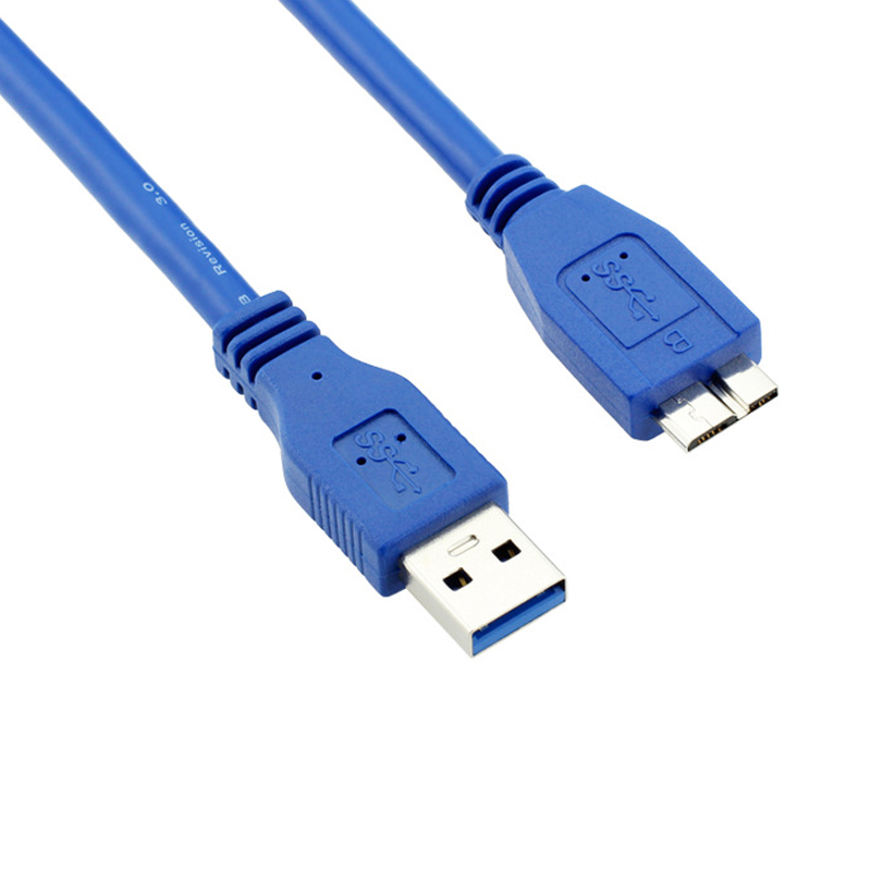 1.5 meter Super High Speed USB 3.0 5Gbps A to Micro B male To male cable extension for /Hub/Hard Disk Drive/HDD/SSD Enclosure