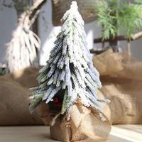 Christmas Tree Wedding Bouquet Decor decorative artificial flower decoracin para el hogar Artificial Polyethylene Xmas Tree 3