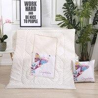 Cartoon Cute Pillow Summer Quilt Decorative Pillow Cojines Decorativos Para Sofa Quilt Office Lunch Break