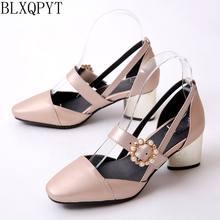 2e2d038e3 BLXQPYT Senhoras Nova Moda Sapato Feminino Tamanho Grande 32-45 Sandálias  das mulheres Sapatos de festa de casamento sapatos de .