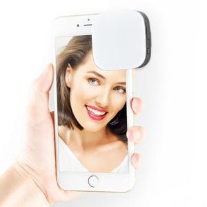 Image 5 - كاميرا جديدة محمولة صغيرة من Godox طراز Selfie Flash LEDM32 مزودة بـ 32 مصباح ليد لتعبئة الفيديو CRI95 مع بطارية ليثيوم مدمجة للهواتف المحمولة