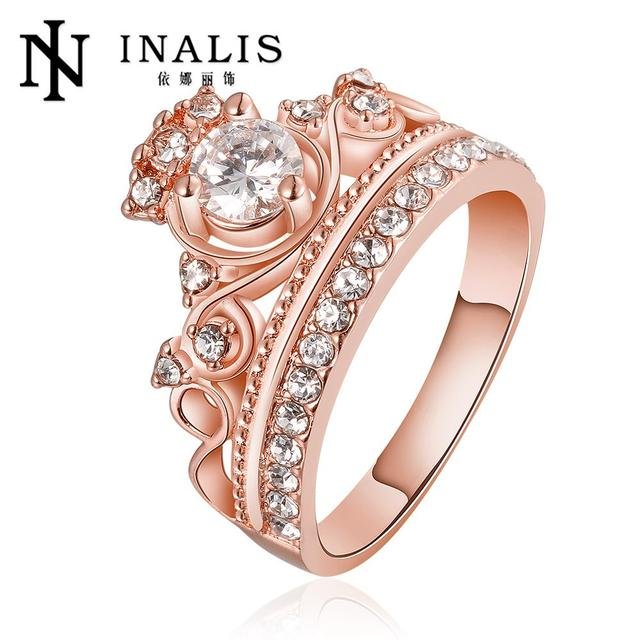 fashion female beaded crystal jewelry engagement rings for women wedding rings for brides bohemian turkish