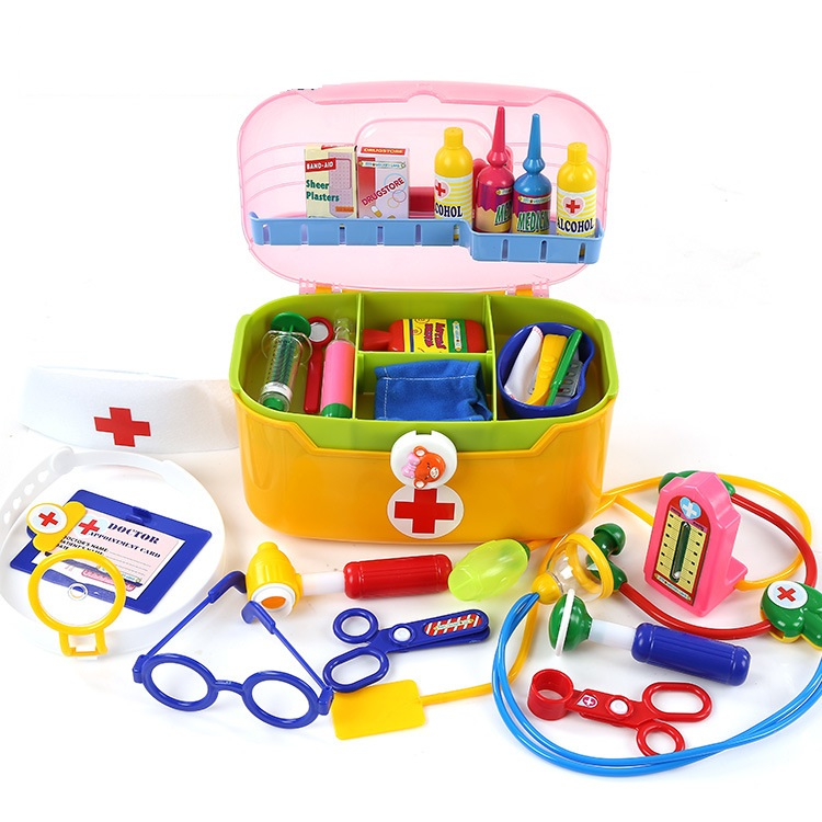 Simulation Doctor Medical Hand Toolbox Children House Role-playing Pretend Toys