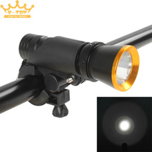 Mini Waterproof 5W 500 Lumens LED Bicycle Light Handhold Flashlight