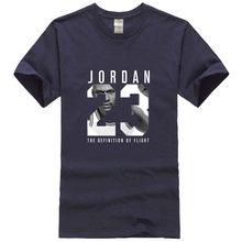 b77fb9d975ba EINAUDI 2017 Michael Jordan 23 jump brand T-shirt men s Harajuku 95 cotton T -shirt summer men s clothing Slim T-shirt XXL