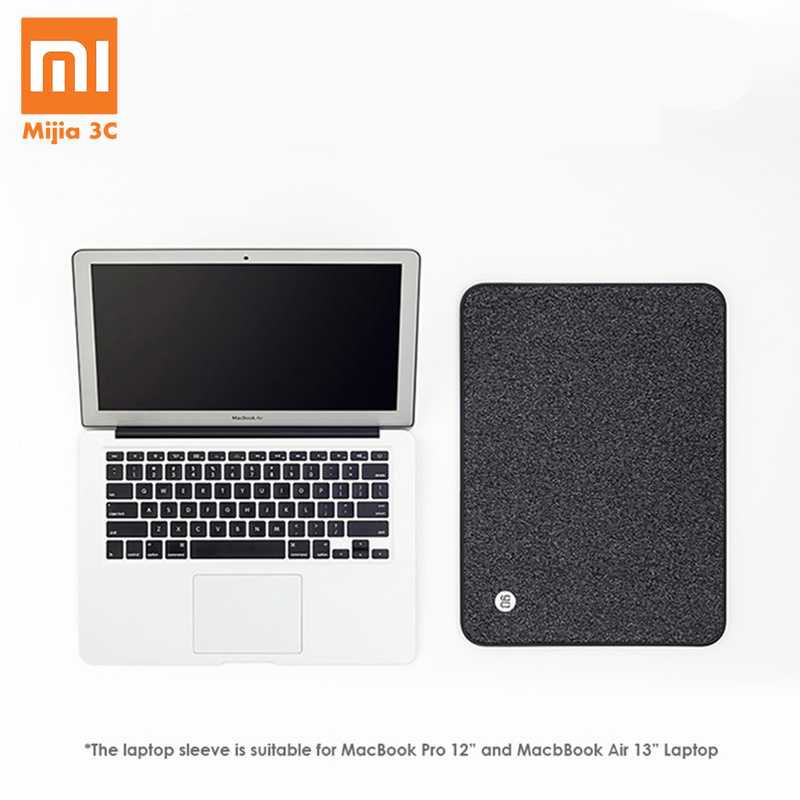 Xiaomi 90FUN Notebook Case Sac D'ordinateur Portable Doublure Manches Protecteur Simple D'affaires ordinateur portable Couverture pour Macbook Air Pro 13.3 12
