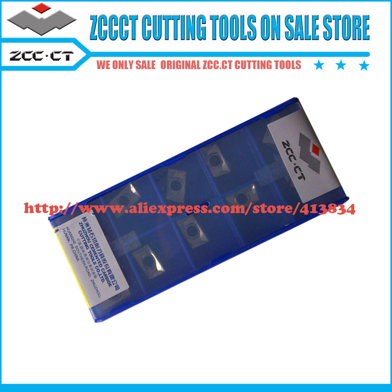 10pcs APKT11T308 LH YD101 ZCCCT aluminum tool insert APKT 11t308 LH APKT11T3 ZCC CT milling Tool