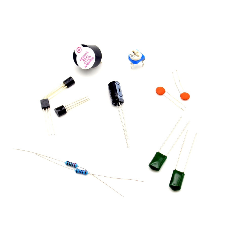 Diy Kit Simple Metal Detector Locator 3v 5v Dc Electronic Pics Photos Build Your Own Projects Circuits Production Sensor Induction Suite In Integrated From Components
