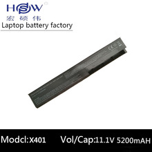 4400MAH 6cells Laptop Battery For Asus A31-X401 A32-X401 A41-X401 A42-X401 X301 X301A X301U X401 X401A X401U X501 X501A X501U x301a x401a x501a laptop motherboard for asus x501a 15 6 hd support cpu b820 b960 pga989 tested ok and top quality in stock