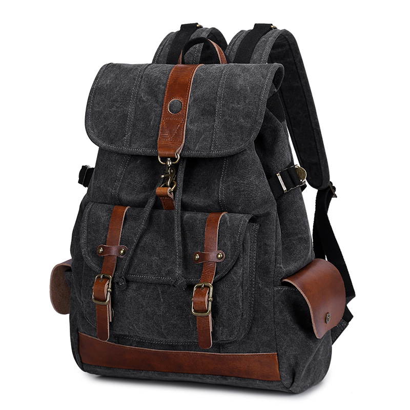 Nouveau Style décontracté mode haute qualité toile sacs à dos étudiant unisexe grande capacité sacs pour ordinateur portable