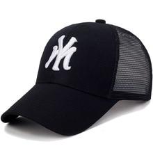 Кепка женская кепка мужская бейсболка хип хоп Моя буква Мода Письмо шляпа c вышивкой, для отца бейсбольная кепка s Кепка летняя дышащая сетка солнцезащитные шляпы унисекс бейсболка для мужчин и женщин сетчатая шапка