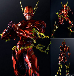 Play Arts Flash Action Figures The Flash Armor Ver PVC Toys 270mm Movie Model Heavily-armored Barry Allen Playarts 116 patrulla canina with shield brinquedos 6pcs set 6cm patrulha canina patrol puppy dog pvc action figures juguetes kids hot toys