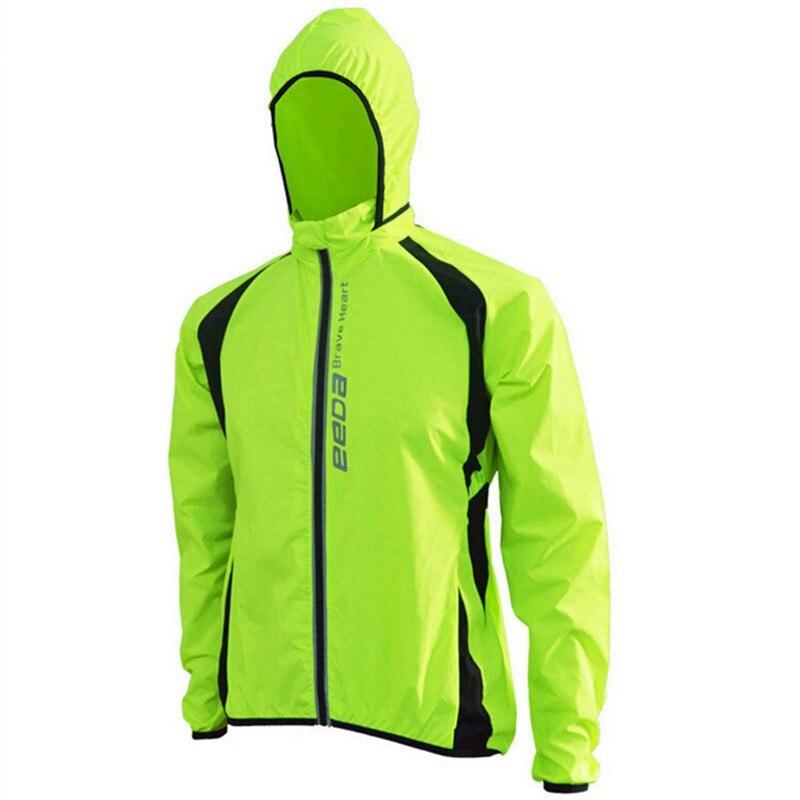 EEDA corazón valiente ciclismo chaquetas a prueba de viento chaqueta bicicleta transpirable manga larga chaqueta Jersey rápido seco ciclismo chaquetas
