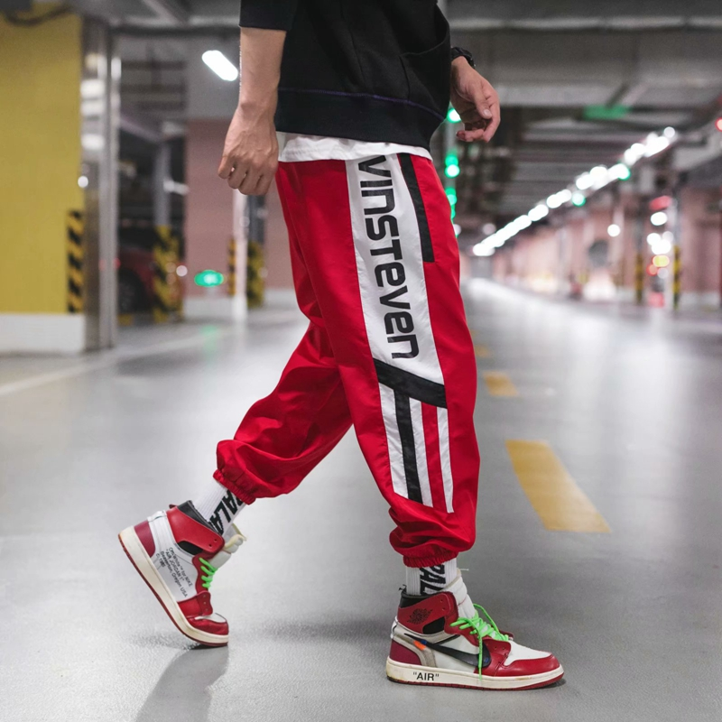 Pants Men's Trousers Stretch Hip-Hop Casual Fashion Beam New And Autumn Spring Tide Brand