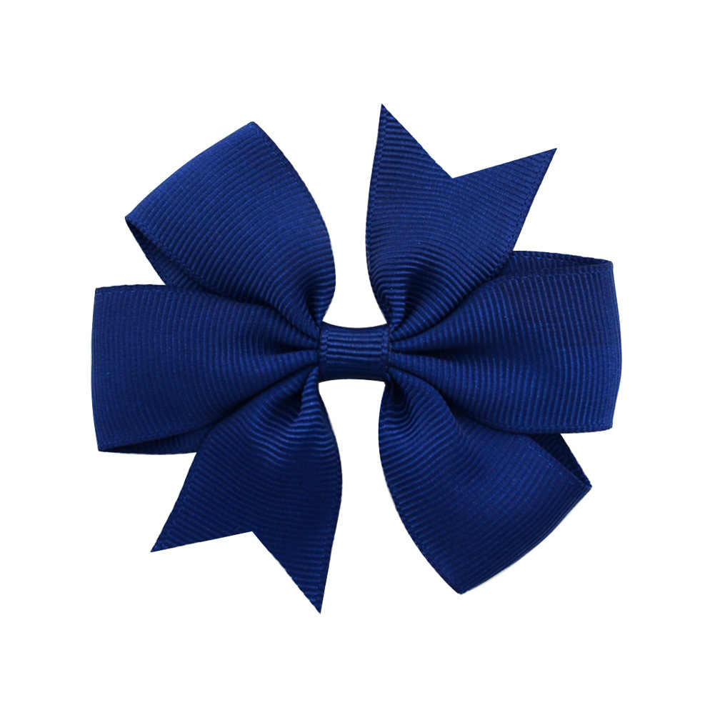 1 piezas negro y azul bebé tocado nuevo colorido Boho recién nacido Niño diadema elástica pelo banda chica nudo de lazo