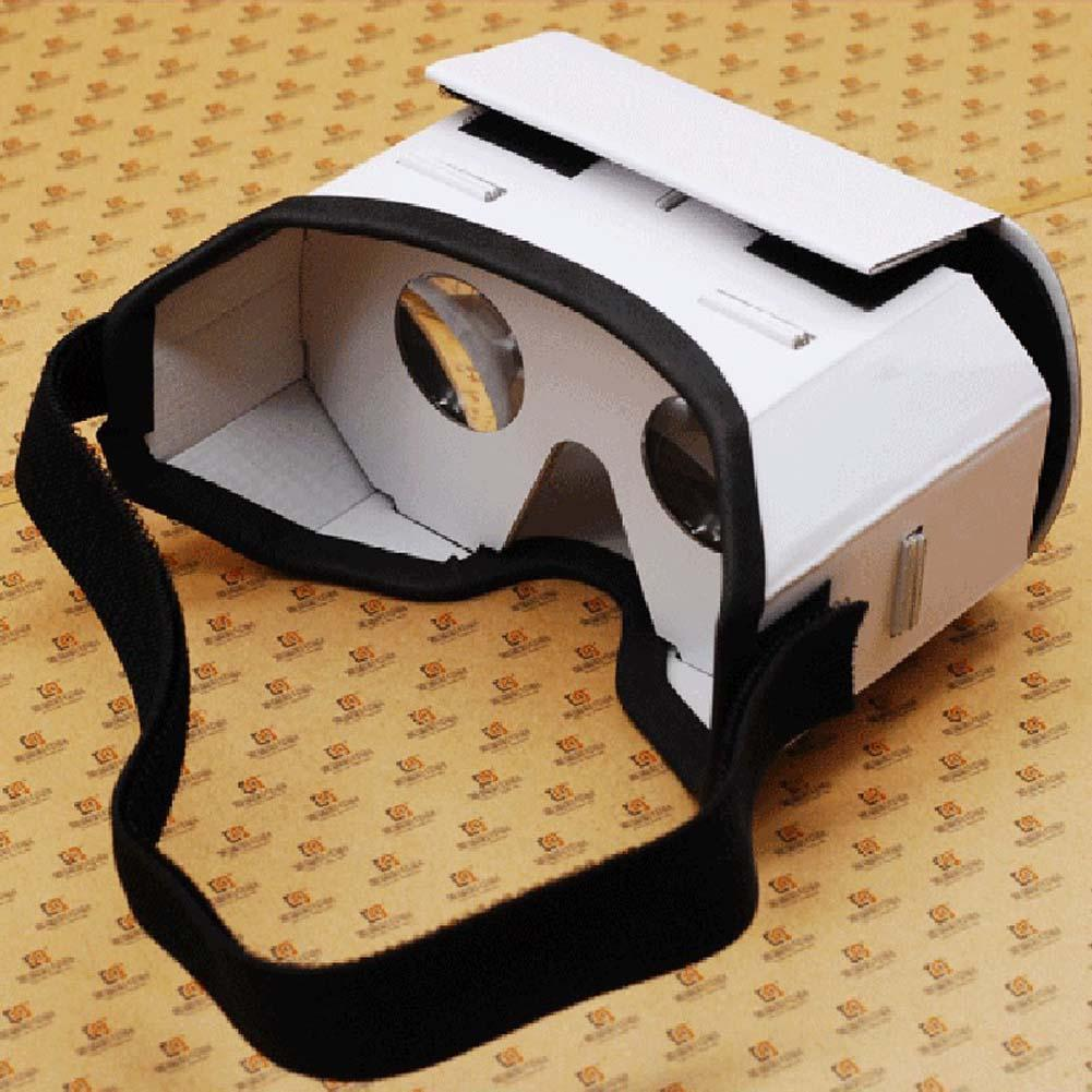 Virtual Reality 3d Glasses Cardboard Movie Private Theater For Iphone Android Smart Cellphone