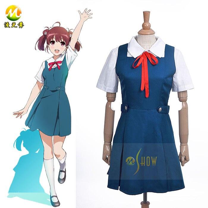 Anime Saenai Heroine no Sodatekata Hashima Izumi Cosplay Costume Girls  School Uniform Sailor Dress Halloween Costume