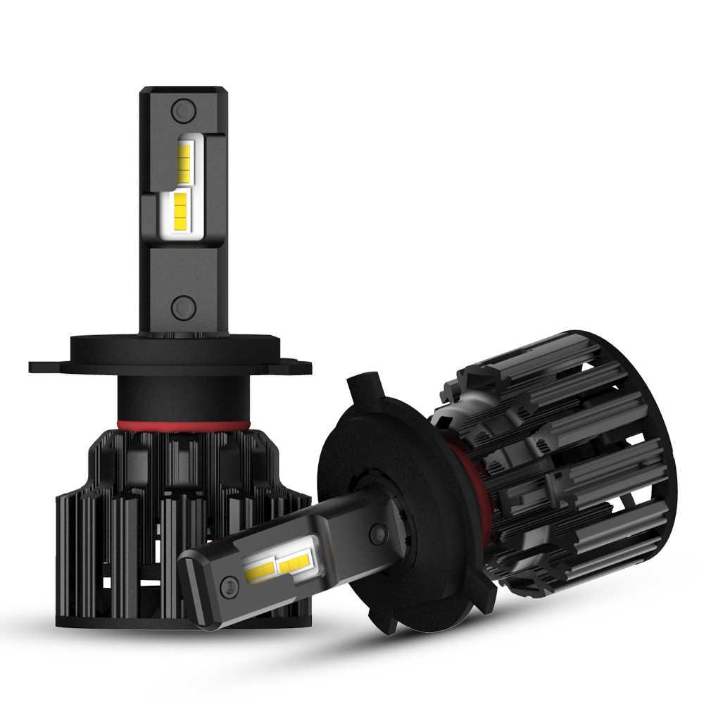H4 Car LED Headlights 100W 20000LM LED Headlight Bulbs Fog Lamps 6000K NOVSIGHT