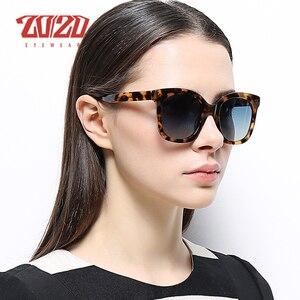 Image 2 - 20/20 Brand Fashion Polarized Sunglasses Women Men Acetate Classic Sun Glasses Driving Unisex Eyewear Oculos AT8048