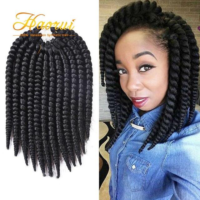 Senegalese Twist Hair 10 14 Havana Mambo Kanekalon Crochet Braids Extensions
