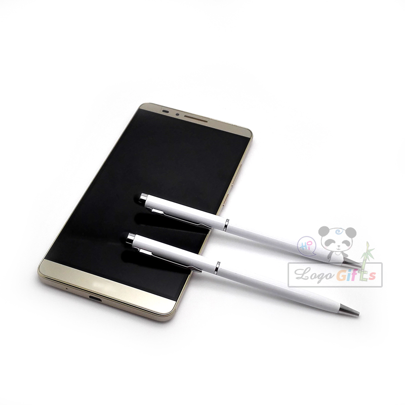 New design Multifunction Touch Screen stationery stylus pen promotional gifts customized logo text design free 30 pencils a lot in Ballpoint Pens from Office School Supplies