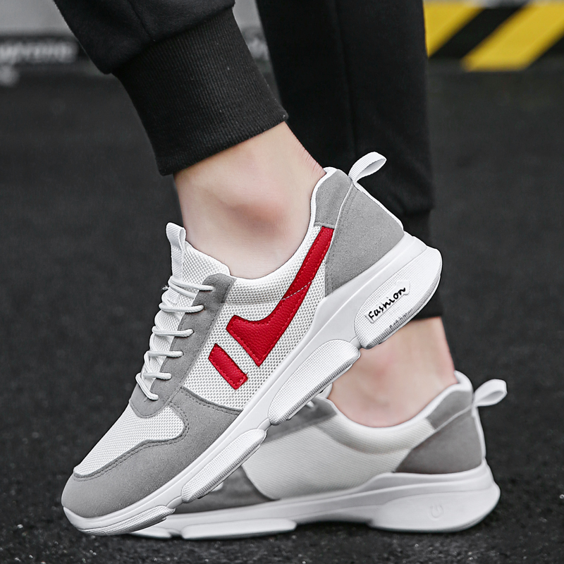 Hot Sale Breathable Trend Comfortable Sports Running Shoes Men's Sneakers  Brand Outdoor High Quality Non-slip Walking Shoes
