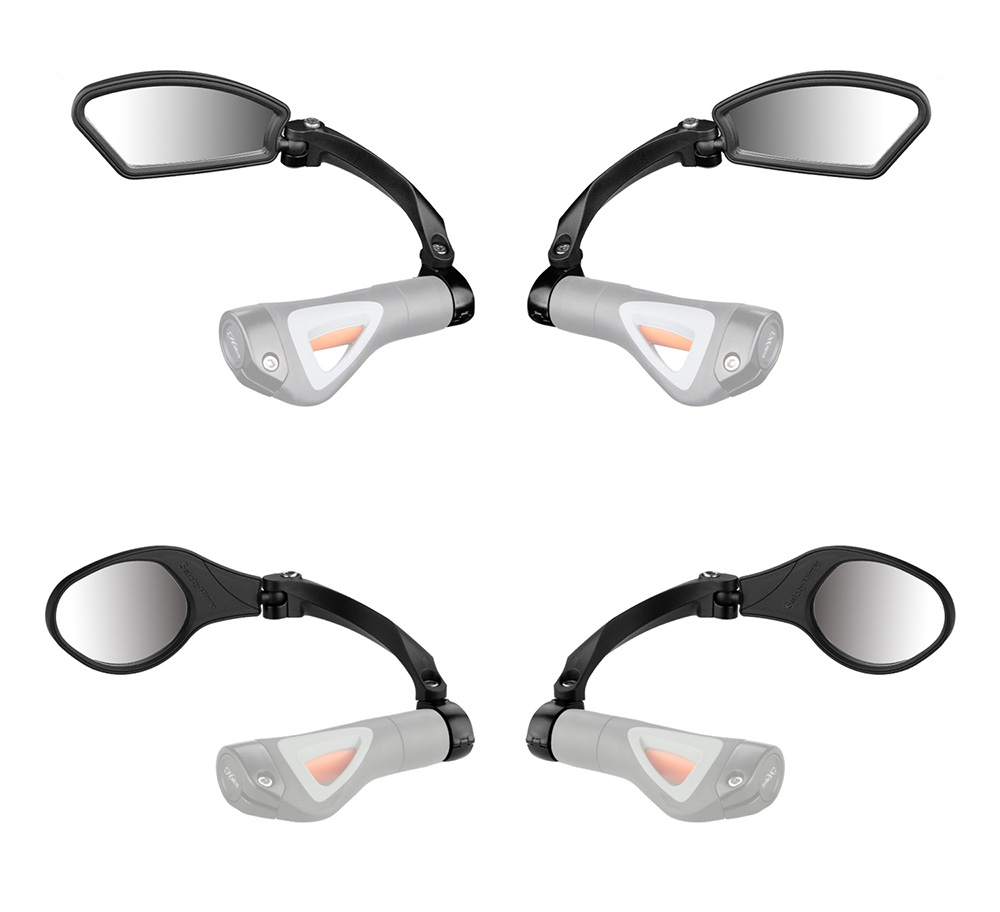 Bicycle Safety Rearview Mirrors