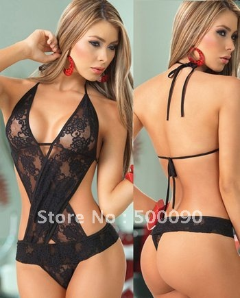 sexy Chemises & Negligees Y 6232 sexy lingerie  string includ black