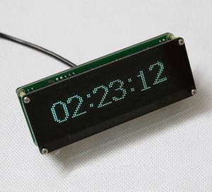 Image 5 - AK7115 VFD الموسيقى الطيف عرض محلل الصوت ستيريو مستوى المؤشر إيقاع VU متر VFD colck + التحكم عن بعد مكبر للصوت