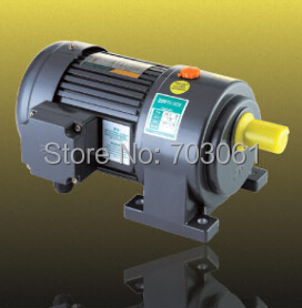 1500W 220 volts 3-phase output shaft 32mm 50mm small AC gear motor gear motor with 6# gearbox ratio 30:1