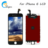 ET Super Grade AAA Quality 20PCS For IPhone 6 LCD Display Touch Screen Digitizer Assembly Complete