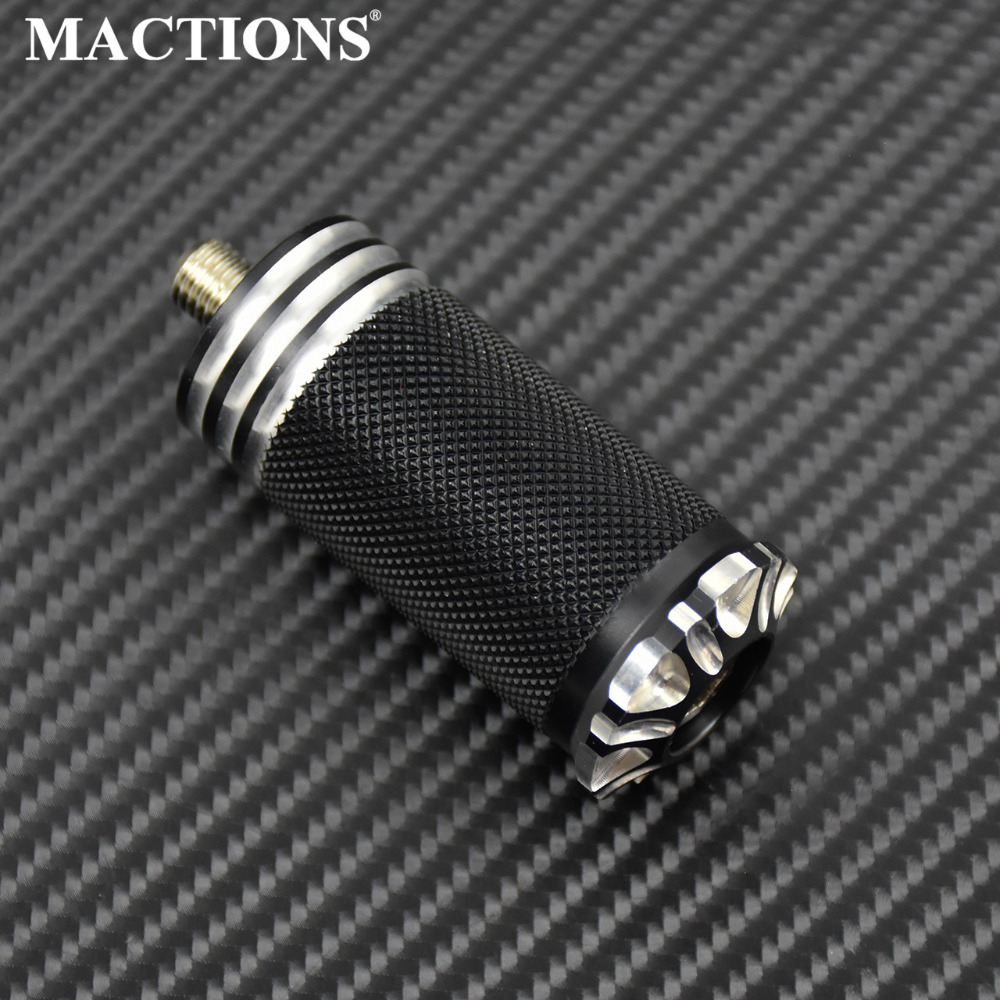 Motorcycle Knurled Burst Shifter Peg Traction Gear For Harley Sportster 883 1200 Dyna Softail Touring Road King Ultra