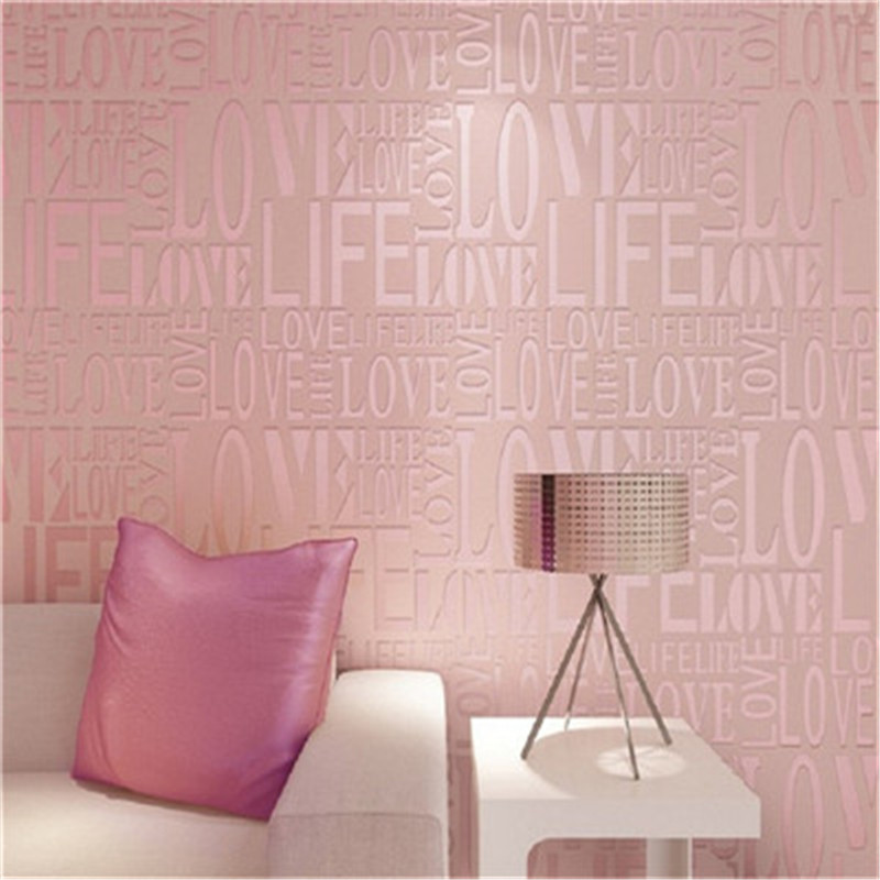 Modern Wallpapers Rolls Bedroom Dinning for Living Room Home Decor Wall Papers For Walls 3D Covering Letters Wallpapers Textured modern non woven solid pure color wall paper rolls 3d embossed textured wallpapers for living room bedroom wallpaper home decor
